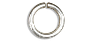 Sterling Silver Round Jump Rings 4.5mm (25 Pieces)