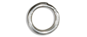 Sterling Silver Split Ring 4.85mm (12 Pieces)