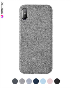 Durable Fabric Super Thin Soft Case Iphone