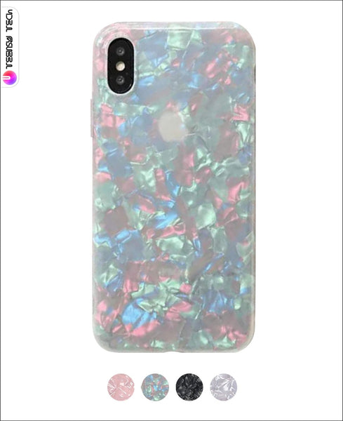 Subtle Refraction Premium Glossy Finish Soft Case Glitter Cases