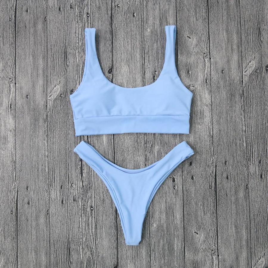 Blue Skies Bikini Set