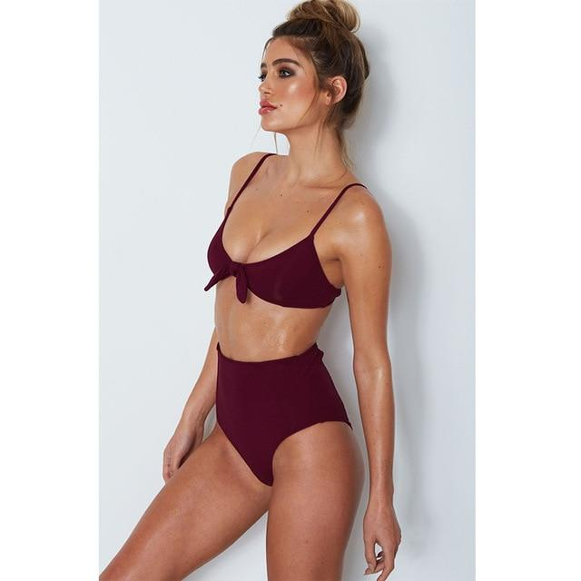 Adelisa High Waisted Bikini