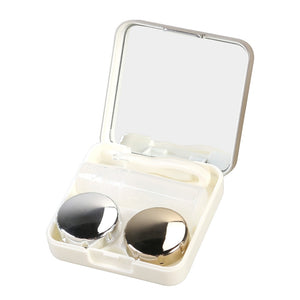 Mini contact lens travel case