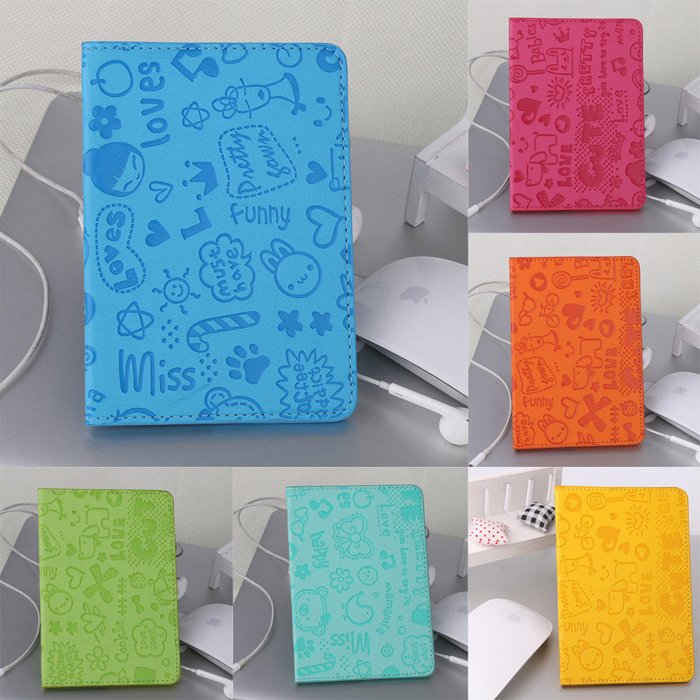 Funky soft passport holder