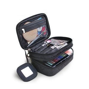 Travel cosmetic bag waterproof toiletries organizer