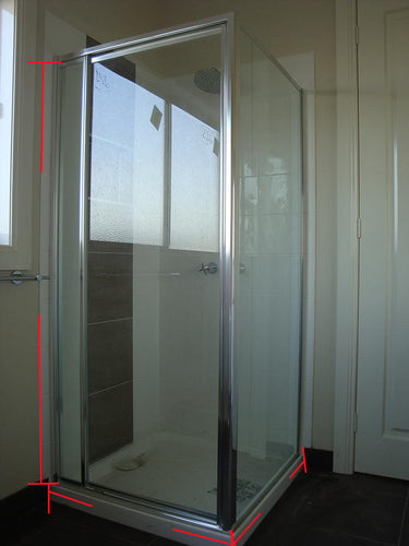 Fully Framed Corner Showerscreen