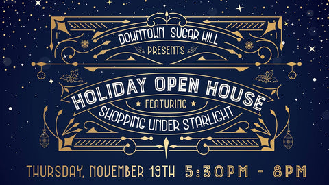 Downtown Sugar Hill's Holiday Open House