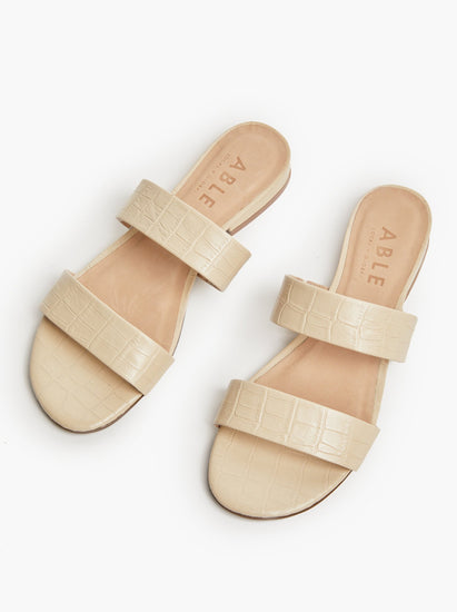Bone Leather Sandal