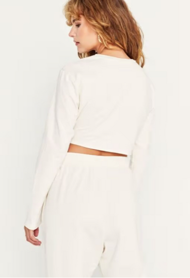 Florence twist front crop top