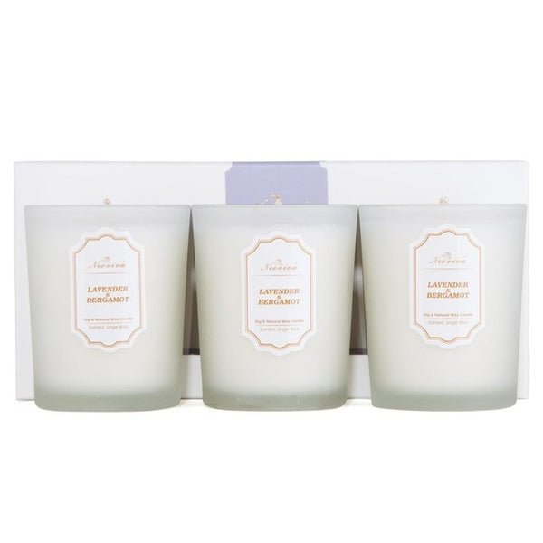 3Pc Smokeless Candle