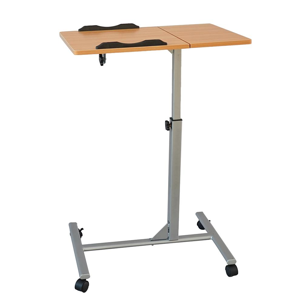 Cool Four Wheel Home Use Multifunctional Lifting Removable Computer Desk Black Wood Color Download Free Architecture Designs Scobabritishbridgeorg