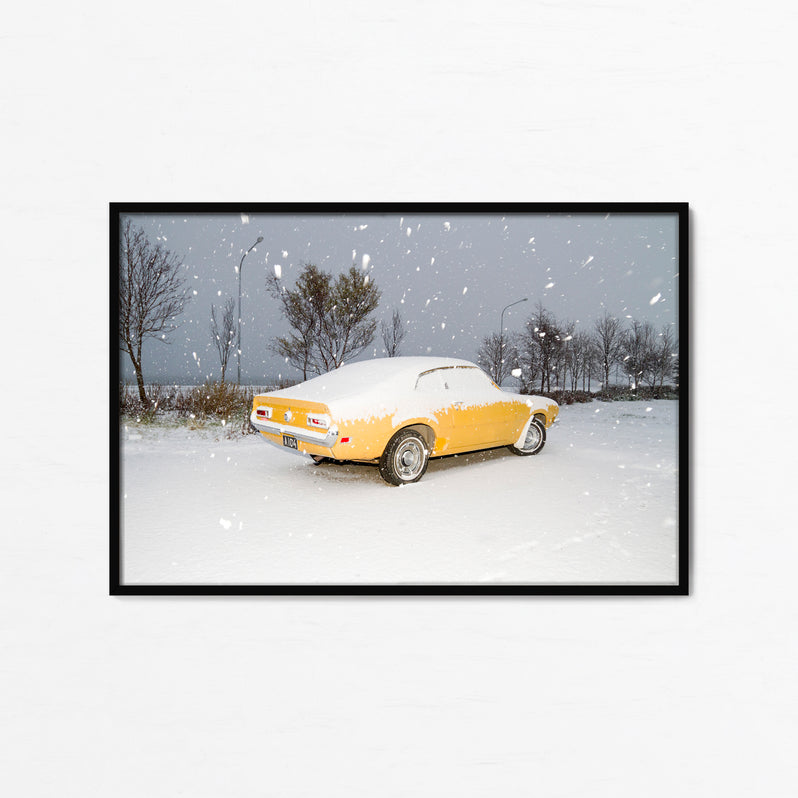 Yellow Car - Paula Prats -  Fine Art Photography Print - impressa editions