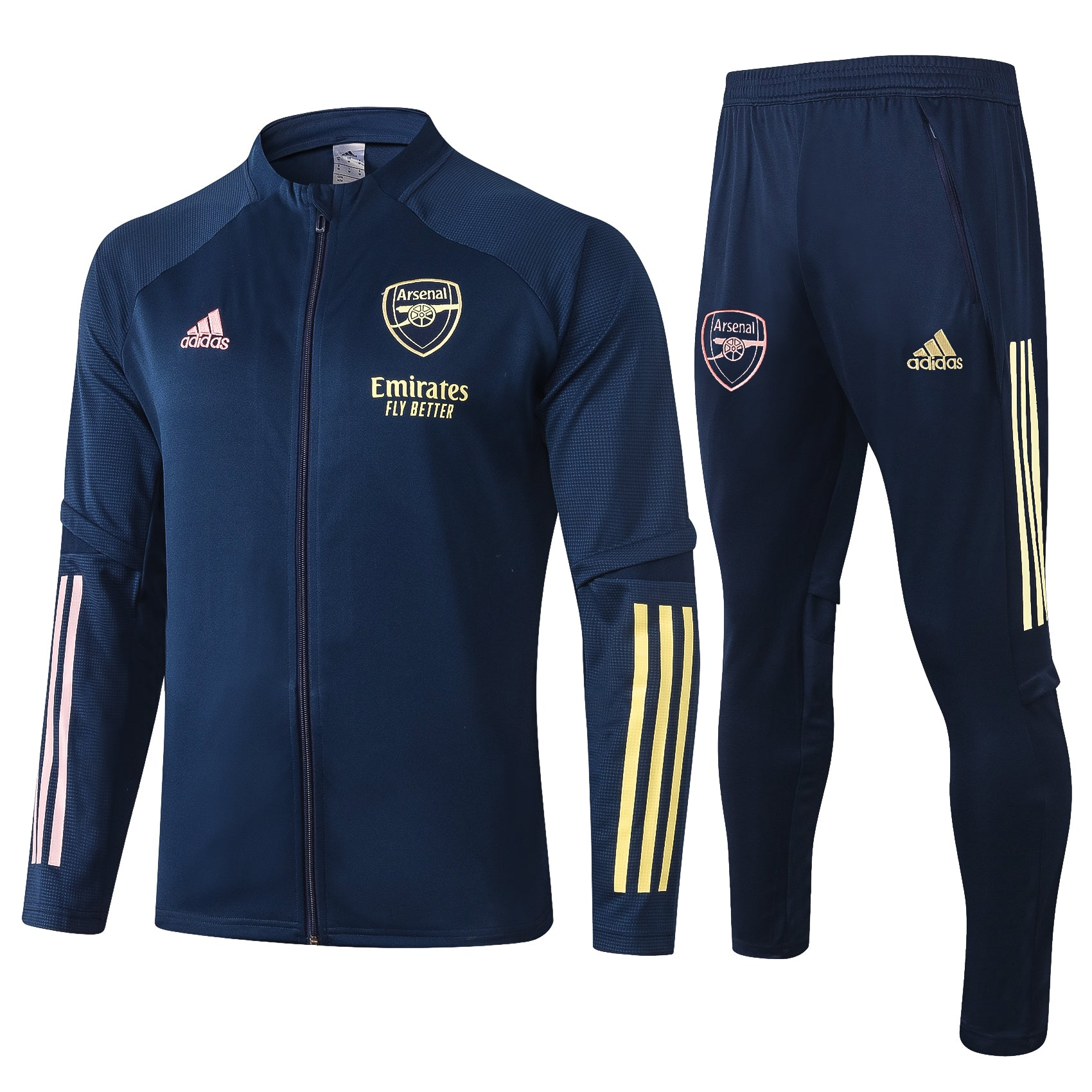 Arsenal 2020 Navy Blue Training Jacket Tracksuit Set Sudadera De Entre Futgol Store