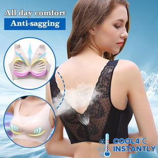 *Beautiful Back Lace Bra For All Women