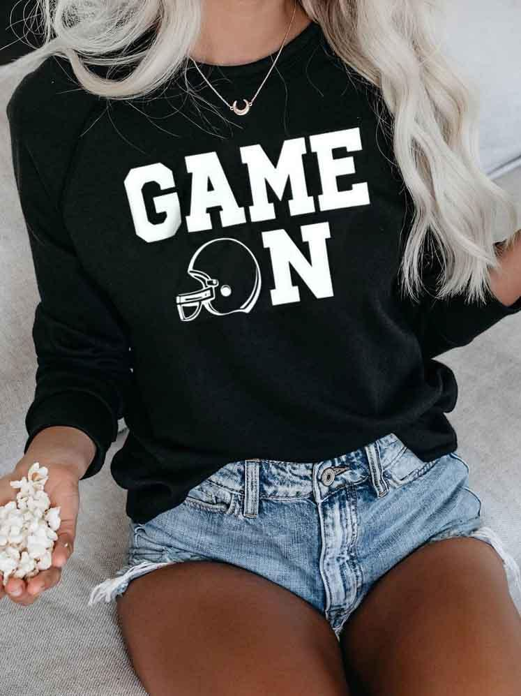 GAME ON Pullover