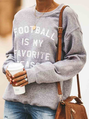 Football Is My Favorite Season Pullover