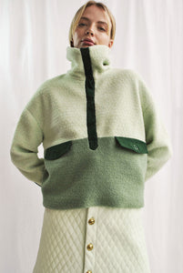 *LAST PIECE* Pistachio Teddy Pullover UK6