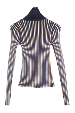 *LAST PIECE* Aldo Rib Turtle Neck Top Size UK12