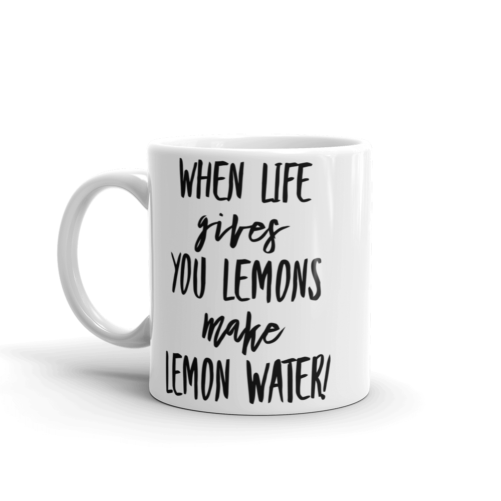 Lemon Water Mug