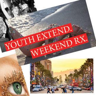 WEEKEND /// YOUTH EXTEND // RX INHIBIT AGING TREATMENT