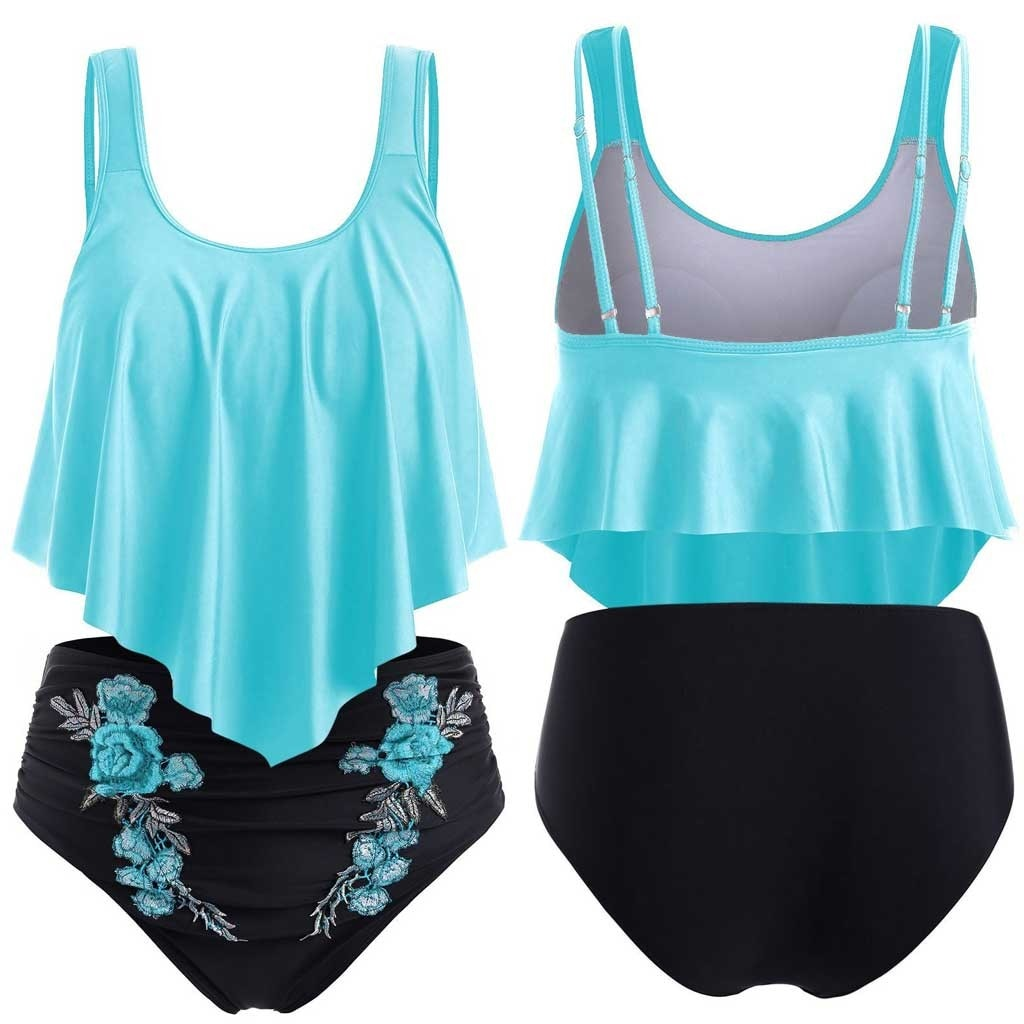 Ruffled Swimwear