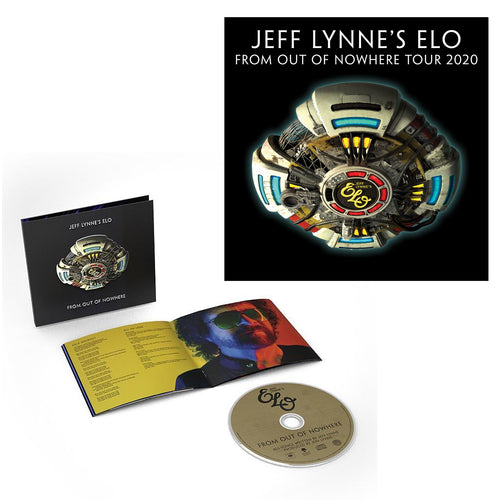 From Out Of Nowhere Deluxe CD + 2020 Tour Screenprint