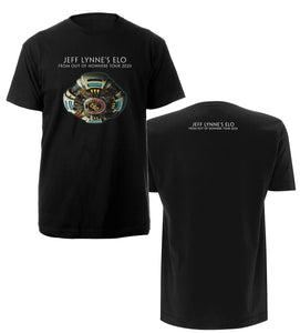 From Out Of Nowhere Tour 2020 Black Shirt + Album