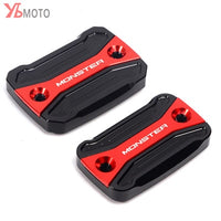 New Creative Brake Lever Cover Fits For FOR DUCATI Hypermotard Monster 796 696 695 Front Brake fluid Reservoir Cap Cover