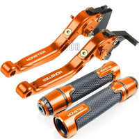 For Ducati M900 M 900 Monster 821 400 620 695 696 796 2007-2018 Motorcycle Brake Clutch Levers Handlebar Grip Handle Hand Grips
