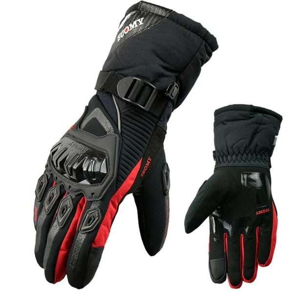 Touch Screen compatible motorcycle gloves 100% waterproof and windproof