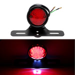 For Harley Chopper Bobber Taillight Cafe Racer LED Motorcycle Tail Brake Stop Light Moto Rear Lights Motorbike Accessories