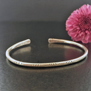 Go Anywhere Sterling Cuff - Small Wrist #1
