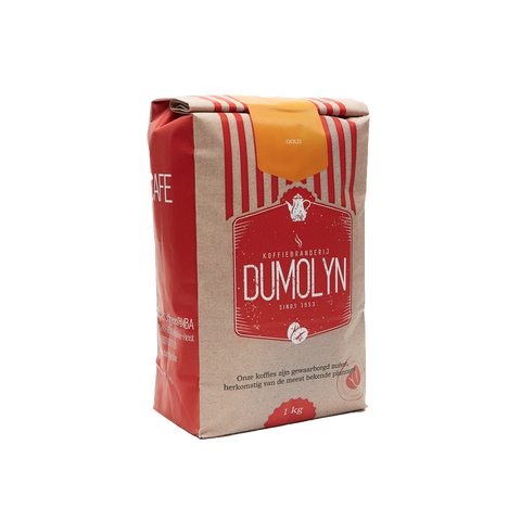 Gold - Dumolyn's Coffees Koffiebonen - 1kg