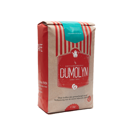 Colombia Excelso - Dumolyn's coffees koffiebonen - 1kg