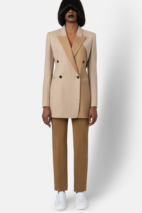Color Combo Blazer - Shadow Camel - landscapestore