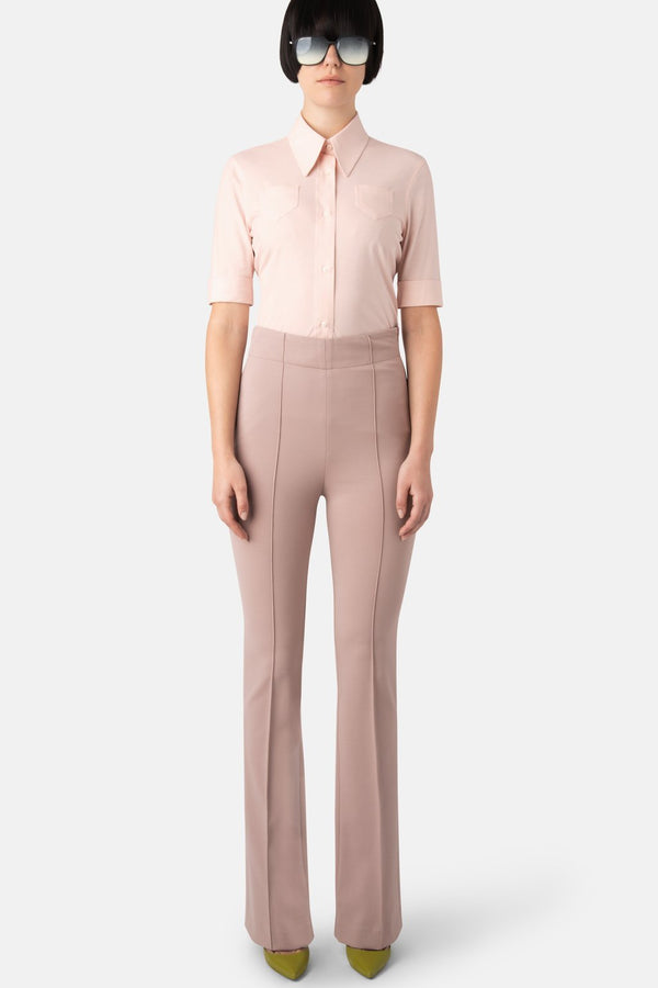 Super Matte Jersey Fit-to-Flare Pant - Powder - LANDSCAPE