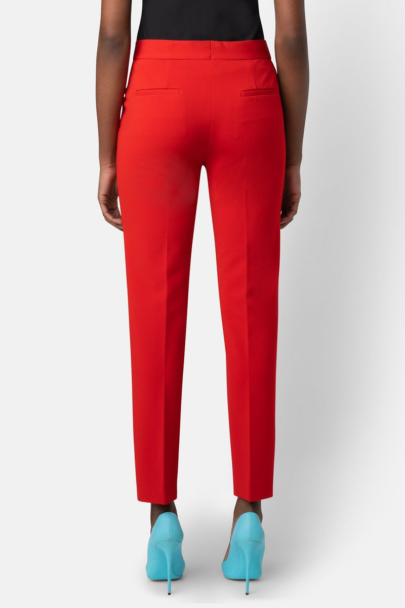 Super Matte Jersey Fitted Ankle-Length Pant - Coral - landscapestore