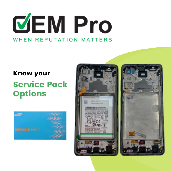 Know your service pack options