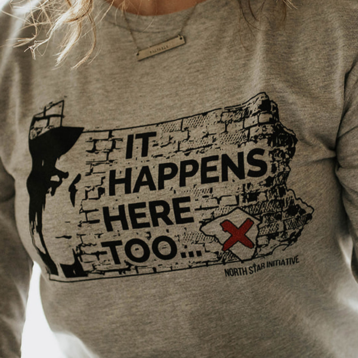 It Happens Here Too | Unisex | Crew Neck
