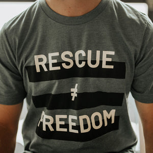 Rescue (Does Not Equal) Freedom | Unisex | Crew Neck