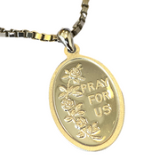 pray for us pendant + necklace