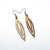 Totem 07 [S] // Wood Earrings - Mahogany