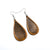 Drop 08 [S] // Wood Earrings - Jatoba