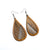 Drop 06 [L] // Wood Earrings - Jatoba