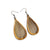 Drop 04 [S] // Wood Earrings - Canarywood