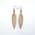 Totem 03 [S] // Wood Earrings - Mahogany