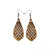 Gem Point 01 [S] // Wood Earrings - Jatoba