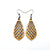 Gem Point 01 [S] // Wood Earrings - Canarywood