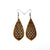 Gem Point 01 [M] // Wood Earrings - Jatoba