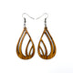 Drop 03 [S] // Wood Earrings - Jatoba